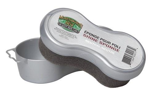 Moneysworth and Best Shoe Shine Sponge - Neutral