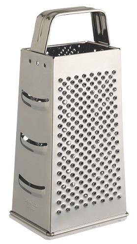 Al-De-Chef, metal box-grater, 4-Sided.