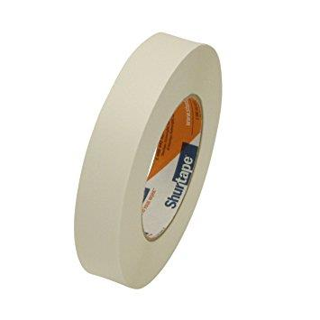 "Shurtape cloth tape, 1"", white."
