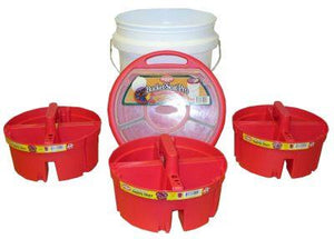 Bucket Boss, bucket stacker system.