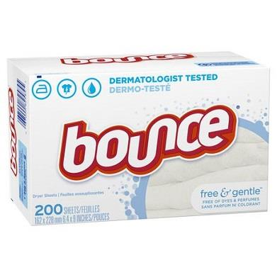 Bounce free & gentle sheets. 120 count.