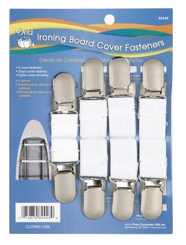 Dritz ironing board cover fasteners. 4 pack.