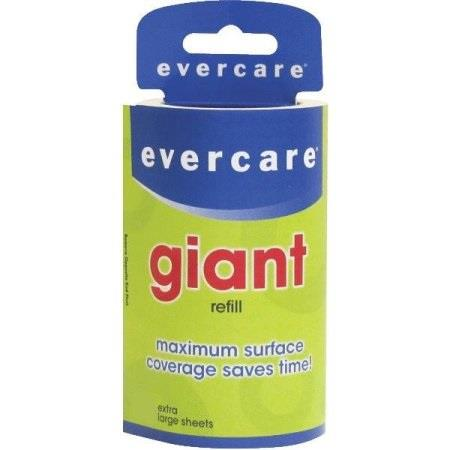 Evercare, Lint Roller, Refill, 60 Giant Sheets