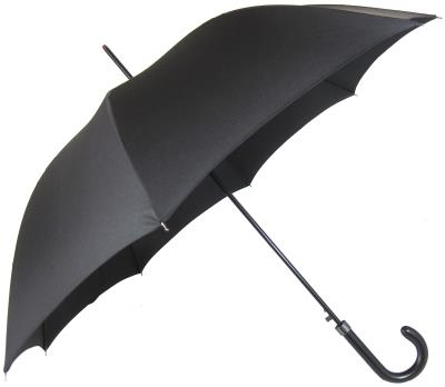 Umbrella Small Black -Hooked Handle