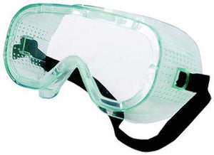 Safety goggles. Plastic. 1 pair.