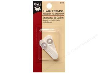 Dritz collar extenders. White. 3 pack.