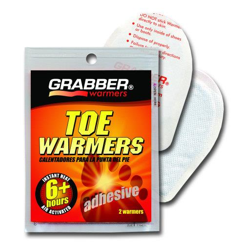 Grabber Warmers, toe. 1 pair.