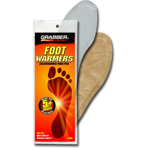 Grabber Warmers, full foot, medium/large. 1 pair.