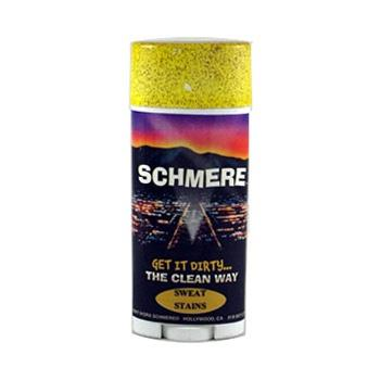 D.W. Schmere crayon stick. Sweat stains.