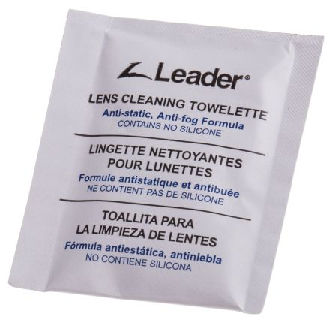 Leader Lens Cleaning Wipes