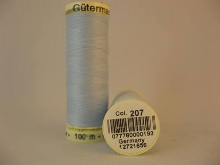 Gutermann thread, polyester. 100m. #207 lt.blue.