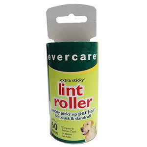 Evercare Extra Sticky Lint Roller Refill - 60 sheets