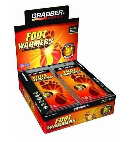 Grabber warmers. Full foot. Medium/large. 30 box.