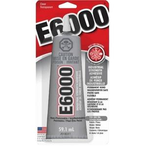 E6000 Adhesive. Industrial strength. (59.1 ml tube)