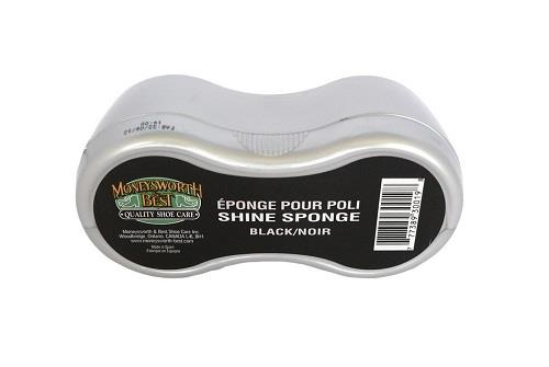 Moneysworth and Best Shoe Shine Sponge - Black
