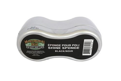 M&B shine sponge. Black.
