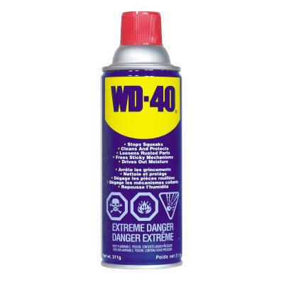 WD-40 lubricant. 155 g (5.5 oz). Spray.