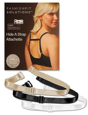 "Fashion Essentials, bra ""Hide-A-Strap"". 3 pack."