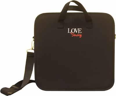 Love, sewing organizer, deluxe carry/tote.