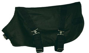 "Outback Trading Co. Dog Coat, ""Clancy Waterproof Dog blanket""."