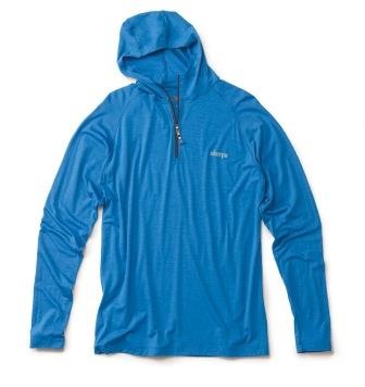 "Sherpa, ""Khushi"" top. Blue. Men's"