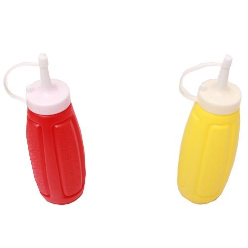 Squeeze bottle. Various colours. 1 bottle.