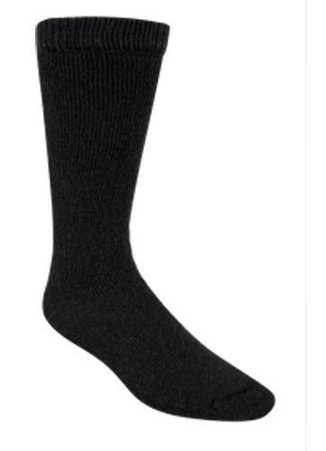 "Wigwam socks, ""40 Below"". 1 pair. Black. Unisex."