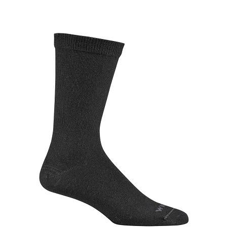 Wigwam Unisex Silken Sock in Black