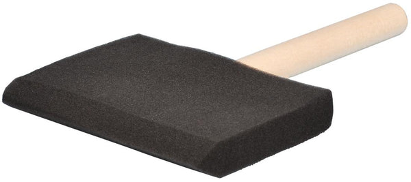 "Dynamic, foam brush. High density, 4"" (100 mm)."