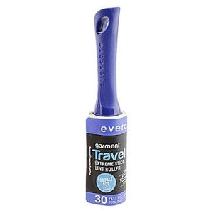 Evercare, lint pic-up, adhesive. Travel size roller.