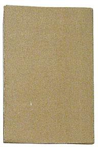 Wellson sandpaper, 3 grades. 6 pieces, (80, 100, & 120).