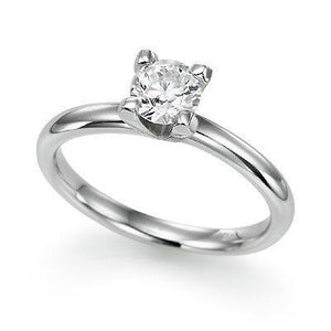 N/N Ring, engagement solitaire.