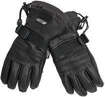 Ganka, Medium Snowmobile gloves. Black. Unisex