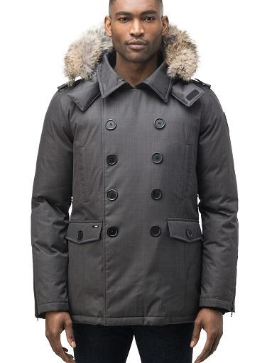 "Nobis parka, ""Kato"". Magnetic front flap closure. Men's."