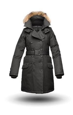 Nobis, Tula Parka, Magnetic front closure, Ladies.
