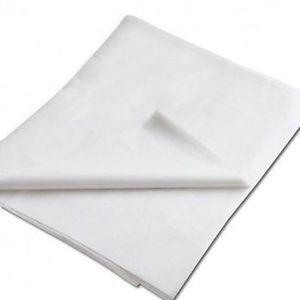 "Tissue paper, 1 ream, (480 sheets), white. 20"" x 30""."