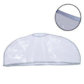 Clear plastic shoulder dust cover. Single