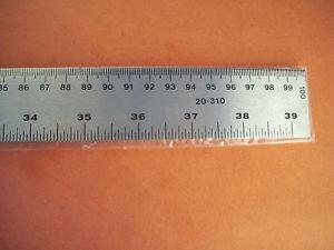 Cansew, Metal Ruler, 1m