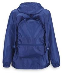 MTC Backpack/rainjacket. Navy. Unisex.