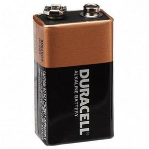 Duracell batteries. single pack. 9volt.