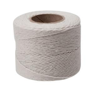 Home-Aide, cotton twill cord. 420'/128 m.