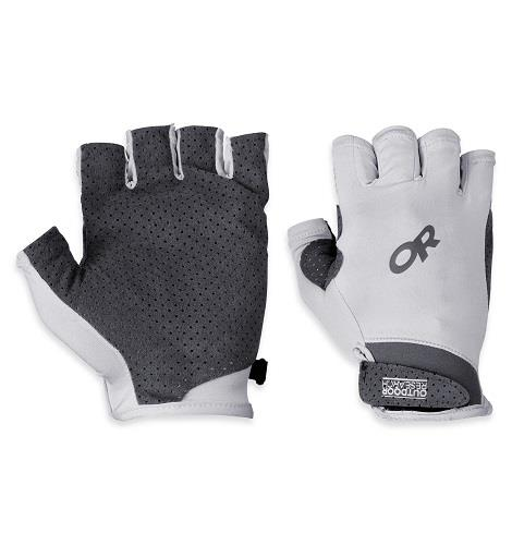 S, Chroma Sun Gloves, Alloy. Unisex
