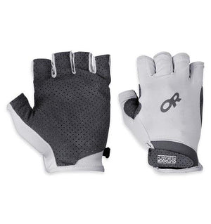 L, Chroma Sun Gloves, Alloy. Unisex