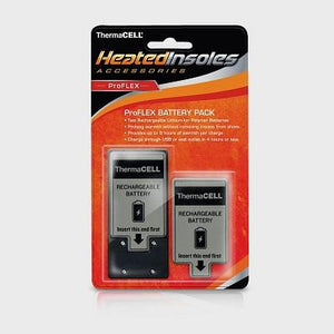 Thermacell, Rechargeable Insole batteries. 1 pair.