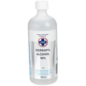 Pure Standards Products, 500 ml, Isopropyl Alcohol, 99%.
