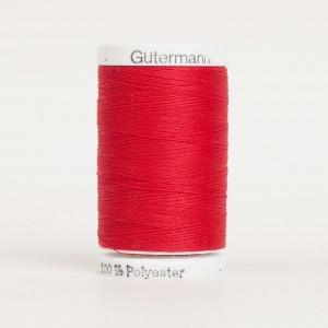 Gutermann thread, polyester, 500m, #410, Red