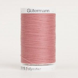 Gutermann thread, polyester, 500m, #323, Old Rose
