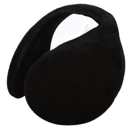 O/S Black Fleece Ear Wrap