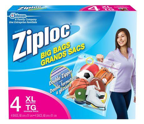 Ziploc Big Bags Box of 4 XL