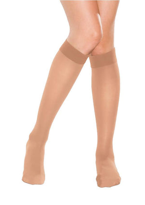Secret Deluxe Pantyhose, knee highs, 2 pack.